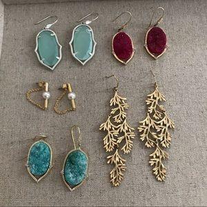 Stella & Dot earrings bundle